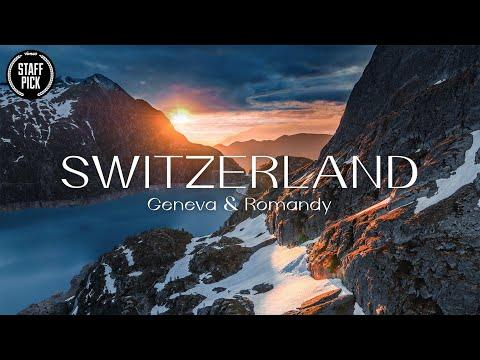 Deléitate Con Este Impresionante Video Aéreo De Suiza
