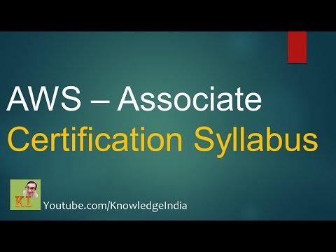 AWS - Associate Certification Syllabus - How to prepare for AWS ...