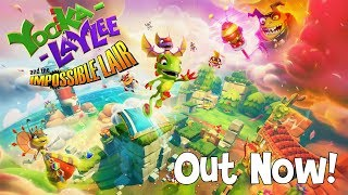 Yooka-Laylee and the Impossible Lair - Launch Trailer (Nintendo Switch, PS4, Xbox One, Steam & GOG)