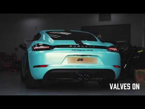Porsche Cayman GTS 2.5 w/ iPE Exhaust X iPE_HK X HYRGNT