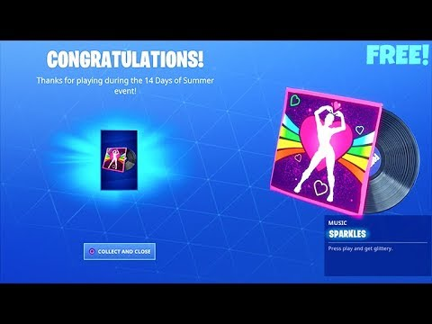 *FREE* Fortnite Sparkles LOBBY MUSIC..! (Search the Tiny Rubber ducky LOCATION)
