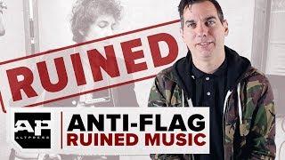 ANTI-FLAG RUINED MUSIC