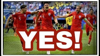England beat Sweden to reach the semi-finals