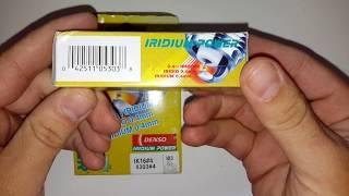 Свеча зажигания иридиевая (пр-во DENSO) 1822A030/MS851728/MN163235/MD350291/MS851358/BKR6E11/K16PSRB8/IK16/K20TT/IK20 от компании Avtokray - видео