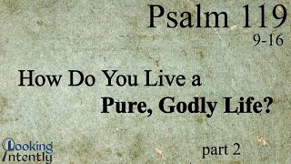 How Do You Live a Pure, Godly Life (Psalm 119 - Video 2)