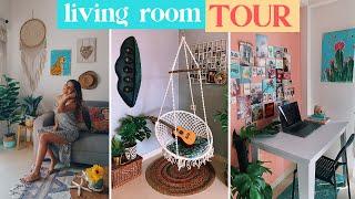 lockdown LIVING ROOM TOUR 2020   BOHEMIAN   #CasaDeLarsa