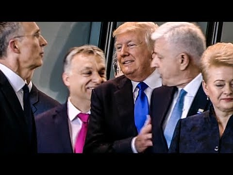 Trump's Trip Disaster – Shoving NATO Leader, Insulting Countries, Embarrassing America