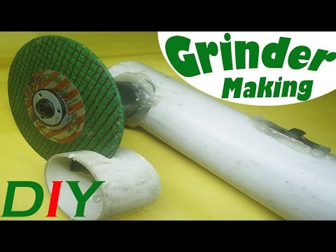 How to Make Angle Grinder (DC-12V) Home Made | DIY Project Creative Discovery ANGLE GRINDER HACK
