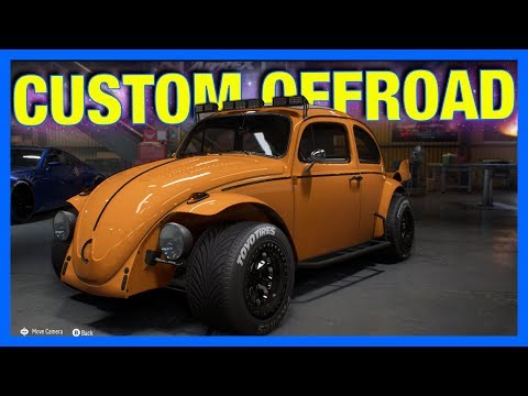 Need For Speed Payback Customization Gameplay : CUSTOM OFFROAD BEETLE!!