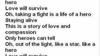 Hero By Charlotte Perelli With Lyrics
