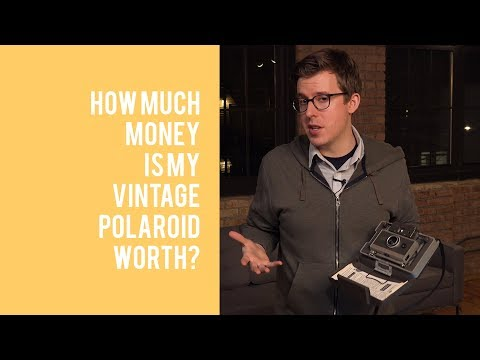 How Much is My Vintage Polaroid Camera Worth?