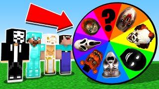 Minecraft Battle: NOOB vs PRO vs GIRL: SCARY ROULETTE CHALLENGE 11 / HORROR Minecraft Animation Фото 1