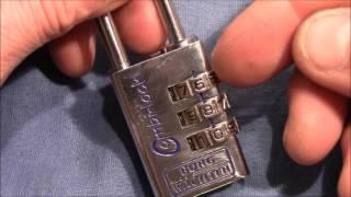 (picking 283) Decoding a Burg Wächter 3 wheel combination padlock - how to defeat false gates