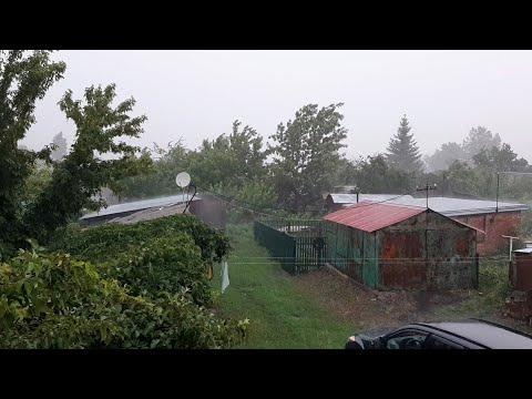 Долгожданный дождь, г.Балашов, Саратовская область 🇷🇺 The long-awaited rain, Balashov, Saratov reg.