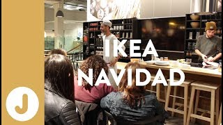 Taller Especial Entrantes para Nochevieja.  Ikea Valencia -JUAN LLORCA