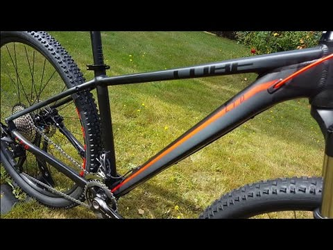 Cube Limited LTD Pro Blackline Mountainbike Modell 2017