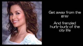 Can We Just Stop And Talk Awhile By Lea Salonga