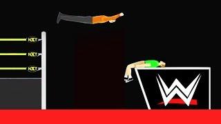 INSANE WWE TAKEDOWN! (Happy Wheels)