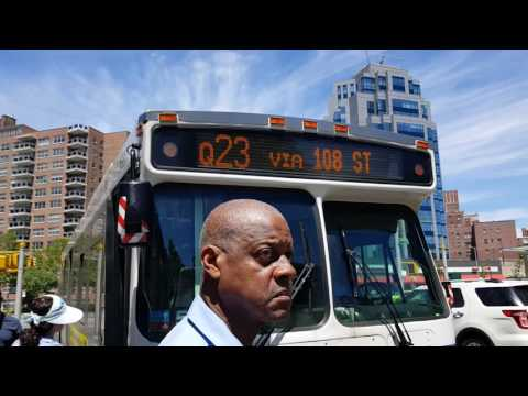 MTA NYC Bus: Q23, Q60, And Q64 Buses At Queens Blvd/71 Ave & 70 Rd Mp3