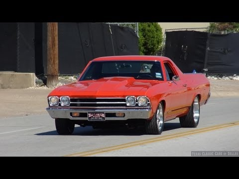1969 Chevrolet El Camino Chevelle Malibu High Performance Video