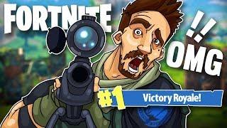COULDN'T BELIEVE I HIT THIS SNIPER SHOT! - Fortnite Battle Royale