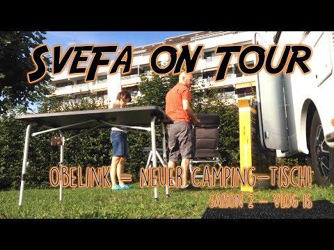 Obelink = neuer Campingtisch | SveFa Vlog S2 E16