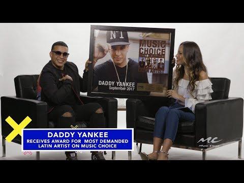 Daddy Yankee is #1 Latin Artist on Music Choice On Demand