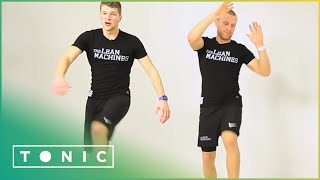 LEGS, BUMS AND TUMS: THE LEAN MACHINES 10 MINUTE WORKOUT by Tonic