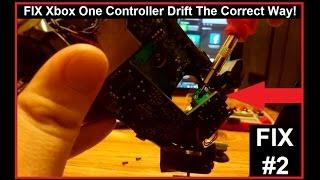 Xbox One Controller Joystick Drift Fix (THE CORRECT WAY!)