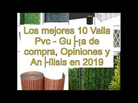 Los mejores 10 Valla Pvc - Guía de compra, Opiniones y Análisis en 2019