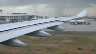 landing with sound effects etc