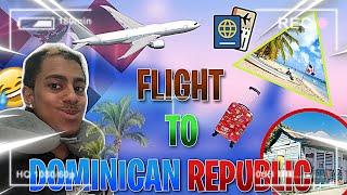 Took a Flight To Dominican Republic