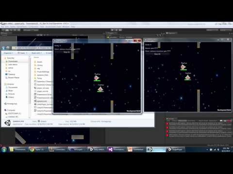 Unite 2014 - New Unity Networking in 5.x