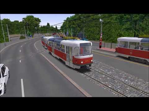 OMSI 2 - Tram NF6D - Essen/Gelsenkirchen Line 107