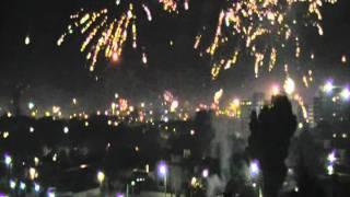 preview picture of video 'Navidad 2011 En Montevideo Uruguay parte 3, a las 12 filmado desde el complejo Malvin Alto'