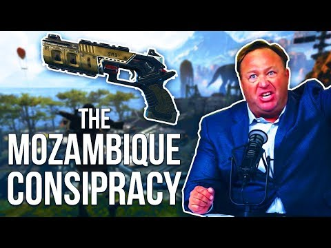 The Mozambique Conspiracy w/ Alex Jones Impersonation (Apex Legends Funny Moments)