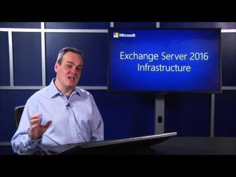 Microsoft Exchange Server 2016: Infrastructure | Microsoft on edX ...