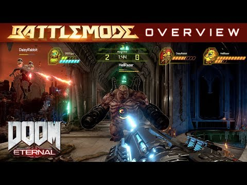 BATTLEMODE Multiplayer Overview de DOOM Eternal