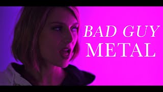 """Video thumbnail of """"BAD GUY - BILLIE EILISH (METAL cover by ANKOR)"""""""