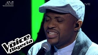 """Cornel sings """"Refuge (When Its Cold Outside)"""" / Live Show / The Voice Nigeria 2016"""
