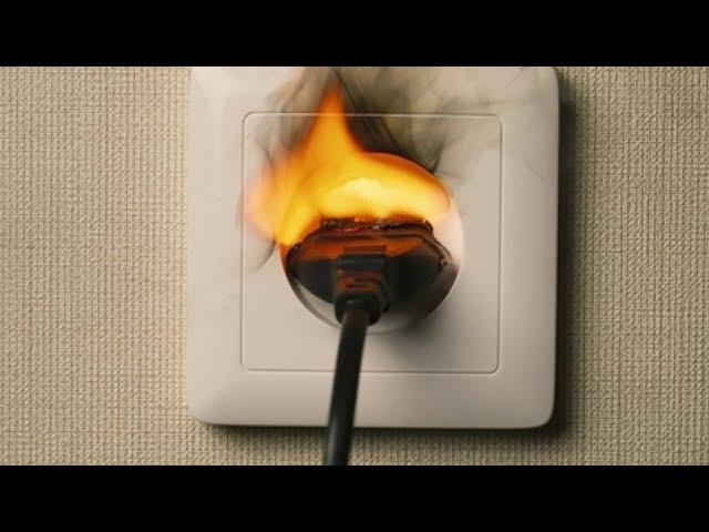 Плохая электропроводка – причина пожаров