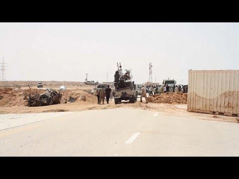 Libye : le trafic reprend sur l'autoroute côtière méditerranéenne Libye : le trafic reprend sur l'autoroute côtière méditerranéenne