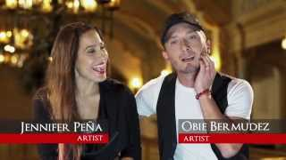 Unitypbs Behind The Scenes  Part 2  - Obie Bermudez & Jennifer Peña