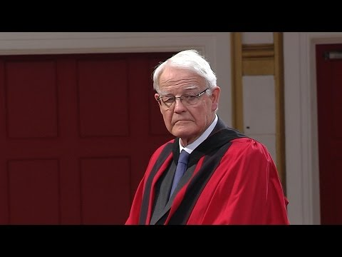 Michael Smith - Honorary Degree - University of Leicester