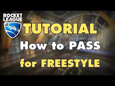 Rocket League Tutorial | How to Pass/Setup Freestyle (with Pulse MK)