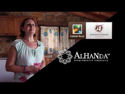 Apartamentos Alhanda. Empresas con Marca de Calidad Altiplano de Granada.