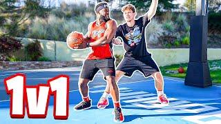 1v1 Basketball Against Jesser!