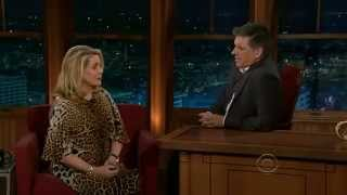 Catherine Deneuve  Late show with Craig Ferguson