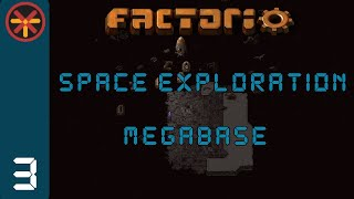 Factorio Space Exploration Grid Megabase EP4 - Steel Production
