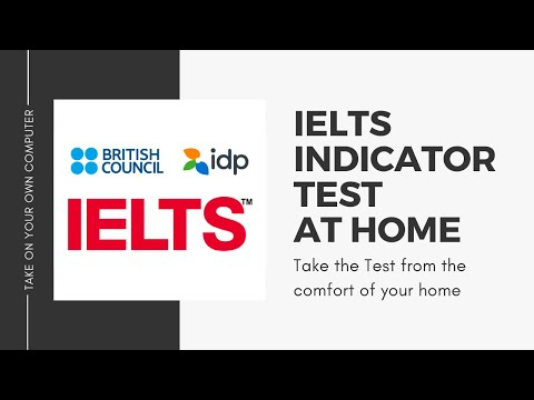IELTS Test at Home | IELTS Indicator | Take the IELTS Exam at Your ...